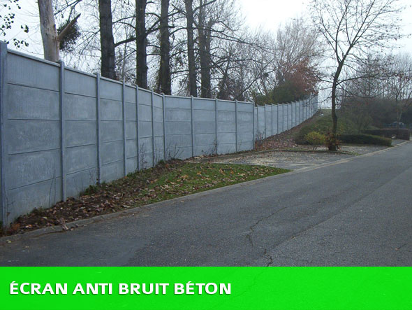 Ecran anti bruit exterieur 28 images ecran anti bruit for Mur anti bruit exterieur
